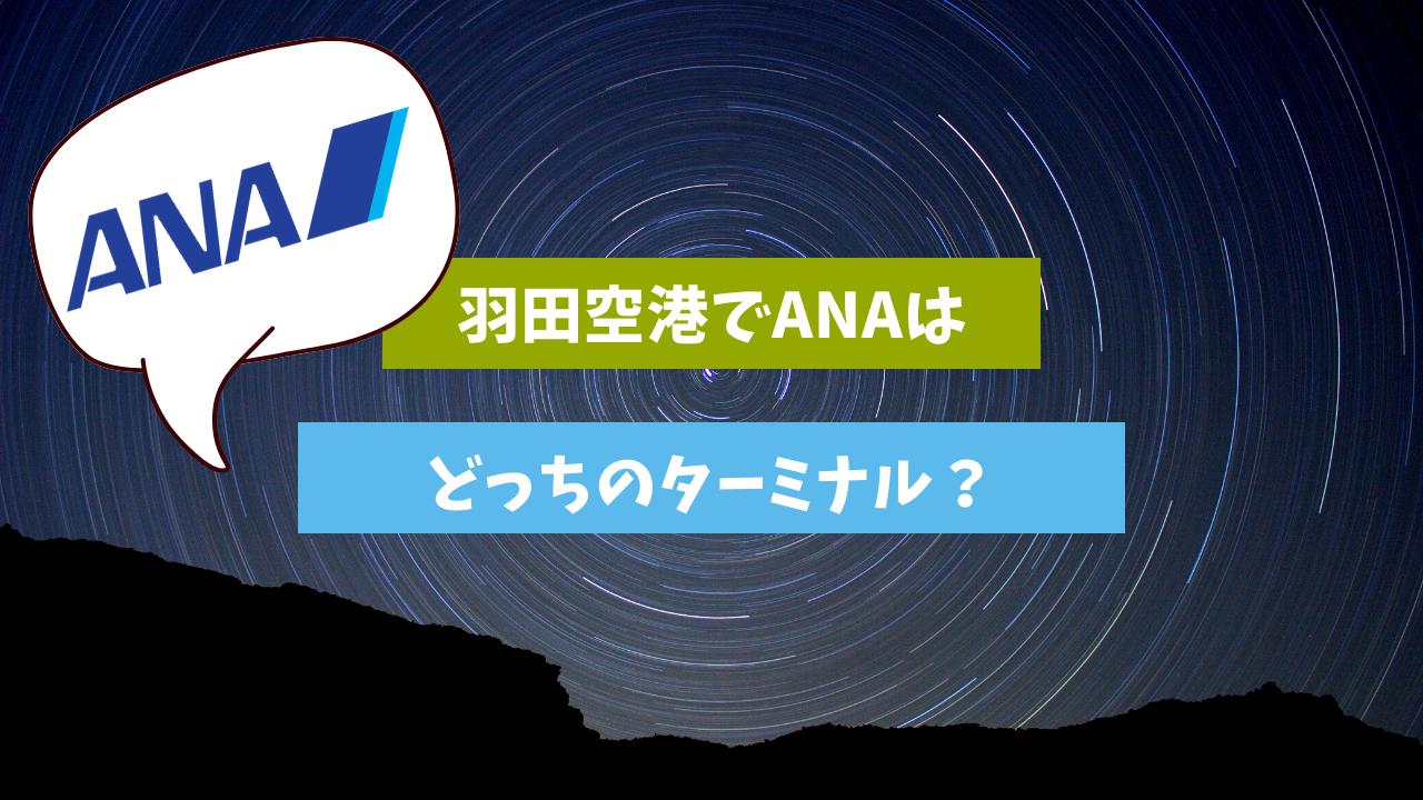 Ana 国内線 羽田 空港 ターミナル