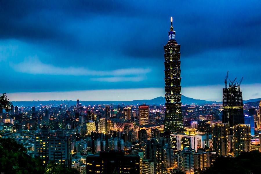 台湾、台北、台北101