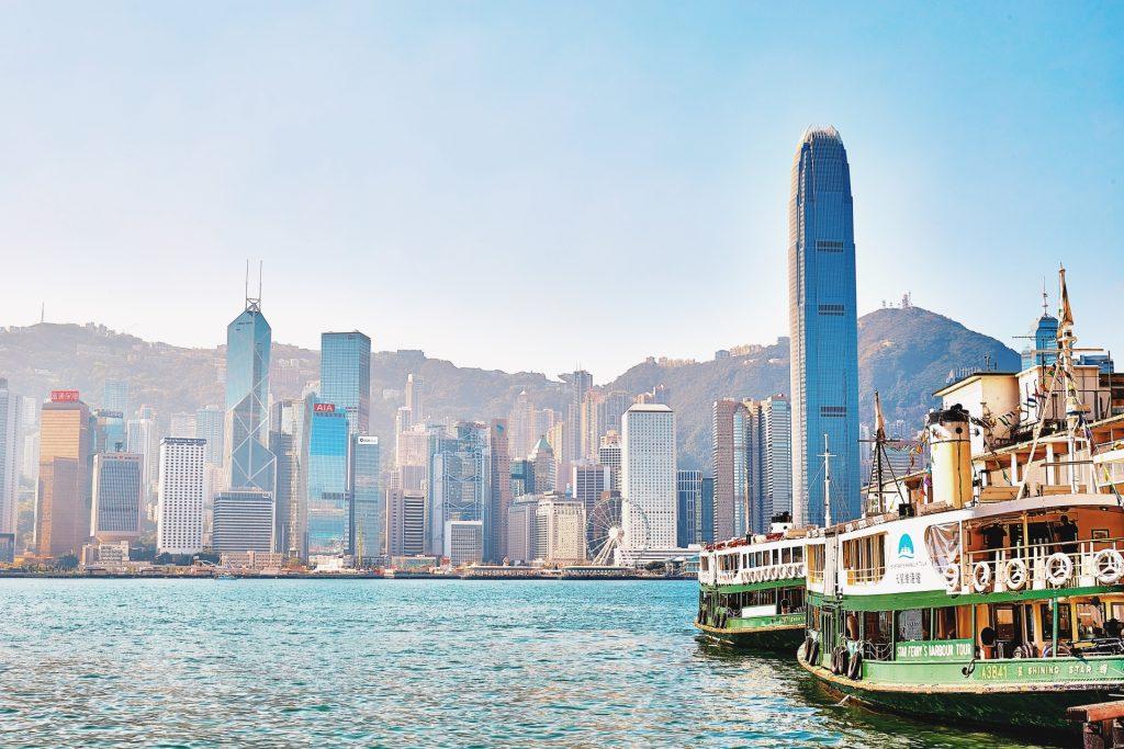 香港の全景