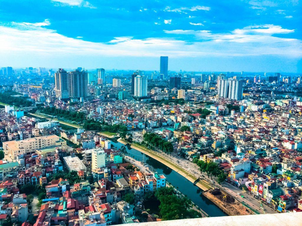 ベトナム市街の画像、ハノイ